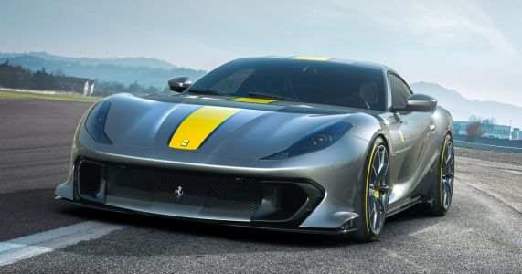 Ferrari's New 812 Superfast-Based Special Revs To 9500rpm