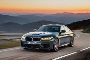 BMW M5 CS Revealed As BMWs Most Powerful M Model