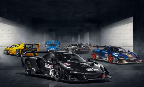 McLaren Reveal 5 Special Senna GTR LMs To Celebrate 1995 Le Mans 24 Hours