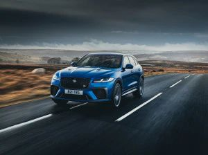 Facelifted Jaguar F-Pace SVR Bookings Commence In India