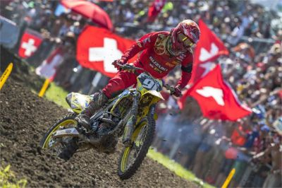 SEEWER WOWS THE SWISS CROWD AS HE CHARGES TO 2ND OVERALL