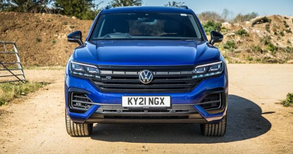 VW Touareg R Review: R By Name, Not Nature