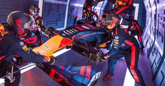 The Red Bull F1 Racing Team Has Done A Pit-Stop In Zero-G