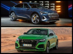 Audi At 2019 LA Auto Show RS Q8 e-tron Sportback Globally Unveiled