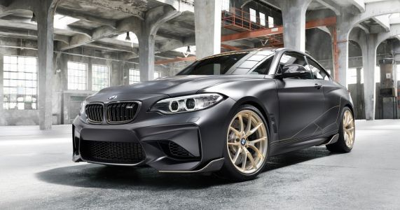 The BMW M Performance Parts Concept Is 60kg Lighter Than A Normal M2