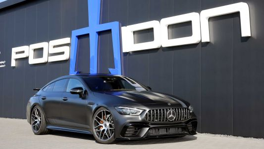 Posaidon Mercedes-AMG GT 63 S 4-Door Coupé Pushes 880 HP