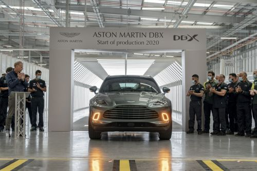The Aston Martin DBX Has Finally Entered Production