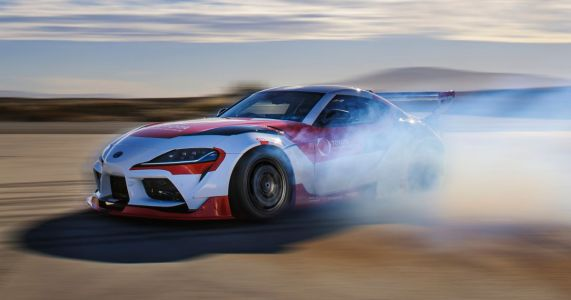 This Autonomous Drift Toyota Supra Will Make Future Cars Safer