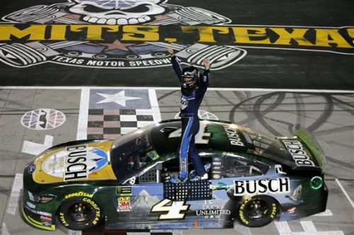 Harvick Wins Third Straight Texas Playoff Race