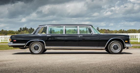 What It's Like To Drive A 1971 Mercedes 600 Pullman