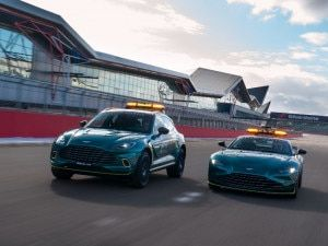 Aston Martin Vantage Safety Car And DBX Medical Car For 2021 Formula One Season Unveiled