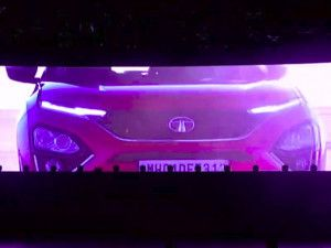 2020 Tata Harrier Teased At Altroz Launch Expected Reveal At Auto Expo 2020
