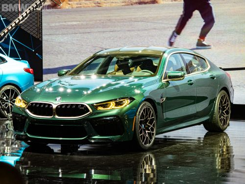 BMW M8 Gran Coupé First Edition Shown in LA