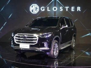 MG Gloster Spied Testing Again In New Body Shades Toyota Fortuner Ford Endeavour Rival Expected To Launch This Festive Season