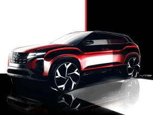 Facelifted Hyundai Creta SUV Design Sketches Revealed In Indonesia India Debut Expected In 2022