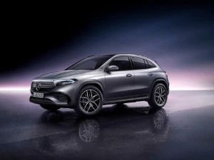 Mercedes-Benz EQA Compact Electric SUV With Over 400km Of Range Makes Global Debut