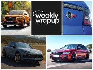 Top Car News India Skoda Kushaq BMW M5 Competition Range Rover Sport SVR and Tata Tiago XTO Launched Porsche Cayenne Coupe Turbo GT and Facelifted Volkswagen VW Polo GTI Unveiled
