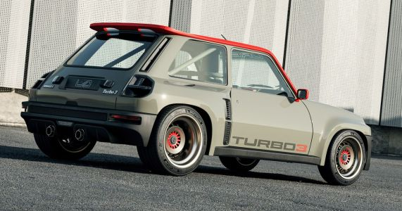 The Renault 5 'Turbo 3' Is An 80s Mid-Engine Hero Reborn For The 21st Century