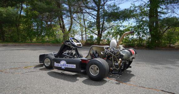 This Go-Kart Is Powered By A Tiny 2kg Rotary Hydrogen Engine