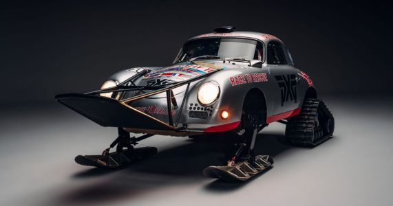 Gaze In Awe At This Porsche 356A Ice Challenge Racer