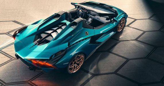 The Lamborghini Sian Roadster Is A V12 Hybrid Hypercar That's Already Sold Out