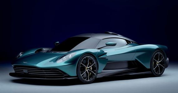 The Production Aston Martin Valhalla Is Here With An AMG Flat-Plane V8