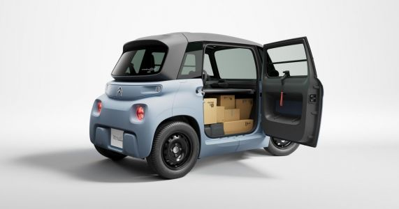 The Citroen My Ami Cargo Is The Cutest Van You'll See This Year