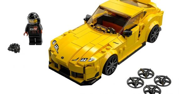 Toyota GR Supra Among Six New Lego Speed Champions Sets
