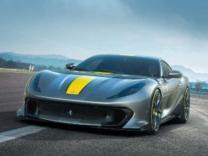 Ferrari 812 Competizione Debuts With 65-litre 830PS V12 Engine
