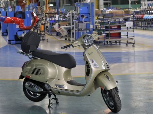 Vespa Celebrates 75 Years of Building Scooters
