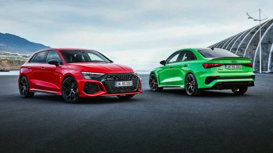 The New Audi RS 3 Revealed With 395 HP