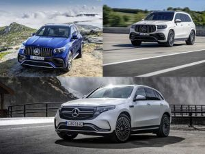 Mercedes-Benz At 2019 LA Auto Show 2021 AMG GLS 63 And 2021 AMG GLE 63 SUVs And 2020 EQC 400 4Matic Electric SUV Debuted
