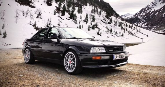 This Rare Audi 80 Competition Quattro Has Been Given The Power It Deserves