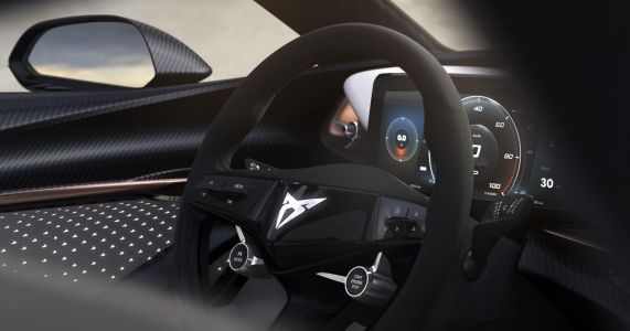 An All-Electric Cupra Concept Is Coming With A Funky Steering Wheel And Many LEDs