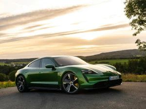 Porsche Taycan Electric Sedan Outsells 911 For The First Time