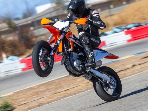 2021 KTM 450 SMR Supermoto First Ride Review Photo Gallery