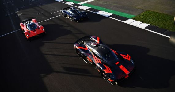 The Aston Martin Valkyrie Is In Testing - With Red Bull's F1 Drivers