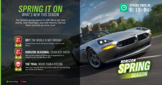 Forza Horizon 4 Spring Update Adds Lots Of New Races
