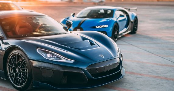 Rimac And Bugatti Have Officially Joined Forces, And Porsche Is Involved