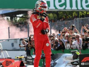 Charles Leclerc Fends Off Mercedes To Take A Tense Italian GP Win