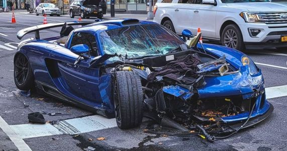 Gemballa Mirage GT Smashes Into Four Cars In NYC, Owner Arrested For Drug Driving