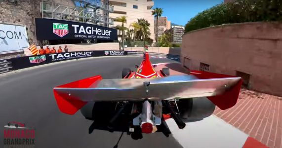 Take A Stunning Third-Person Thrill Ride Behind An Old F1 Car At Monaco