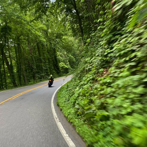 7 days riding around the Appalachian Mountains with the Cheerful 6
