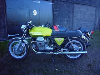 Moto Guzzi S3 and V7 Sport