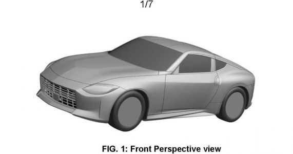 The Nissan '400Z' Will Look Just Like The Proto-Z Concept, Patent Images Reveal