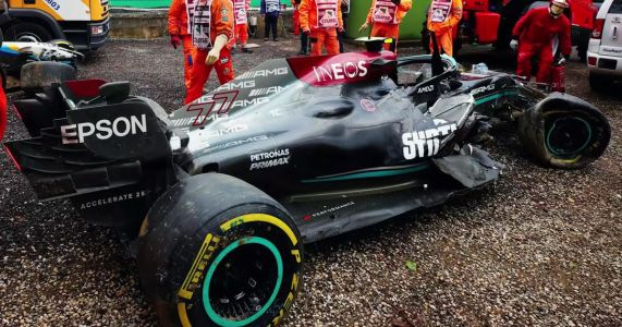 Mercedes F1's Imola Crash Will Cost It £1 Million, Could Cause Budget Cap Headaches