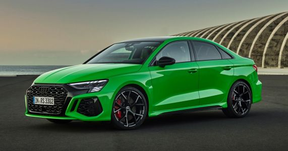 The Audi RS3 Is Here With 395bhp, Drift Mode, And Muscles