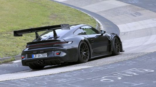 New Porsche 911 GT3 RS Has Active Rear Wing