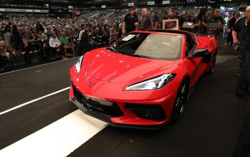 First Chevrolet Corvette C8 Sells For R43 Million at Auction