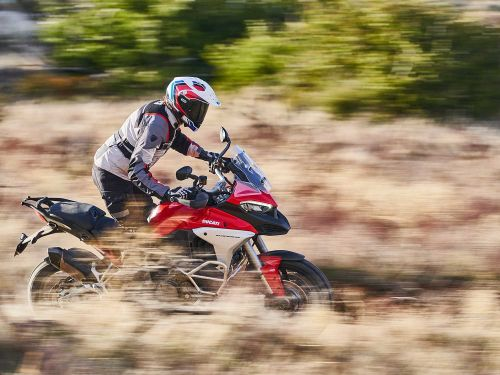 Is Ducati's Multistrada V4 the Fastest Adventure-Touring Bike? Photo Gallery